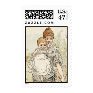 Vintage Baby Postage