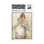 Vintage Baby Postage Stamp