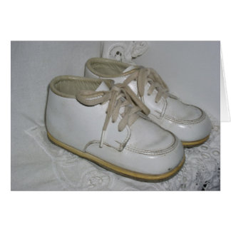 Vintage Baby Shoes Notecard