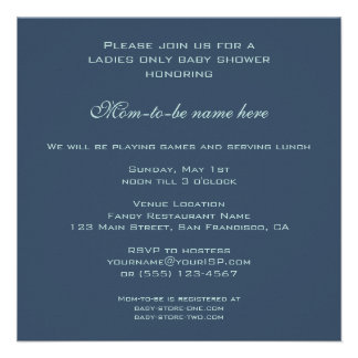 Vintage Baby Shower, Brer Rabbit by William Morris Personalized Invite