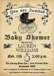 Victorian baby shower invitations zazzle vintage baby shower invitation ii filmwisefo