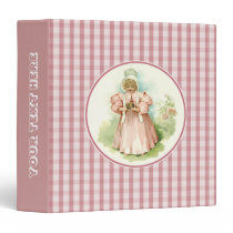 Vintage Baby with Chicks. Gift Binders