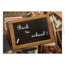 "Vintage ""Back to school"" Card"