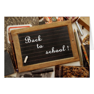 "Vintage ""Back to school"" Card"