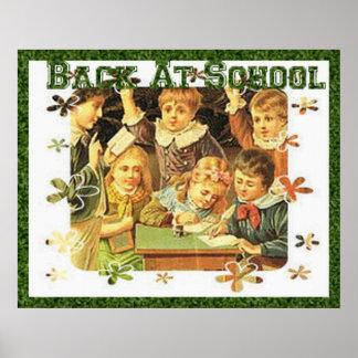 Vintage Back to School Poster