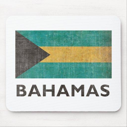 Vintage Bahamas Mouse Pads