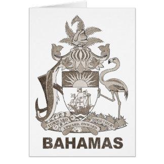 Vintage Bahamas Felicitaciones