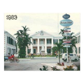 Vintage Bahamas Tarjeta Postal