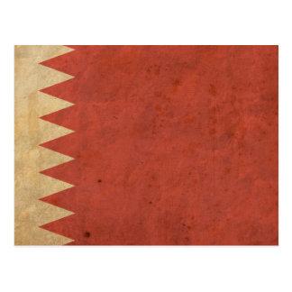 Vintage Bahrain Flag Post Cards