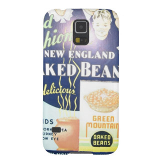 Vintage Baked Beans Cases For Galaxy S5