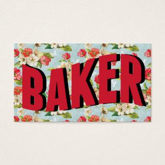 Vintage Baker Business Cards