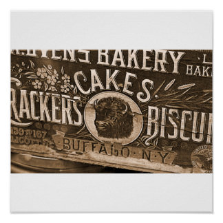 Vintage Bakery Ad Poster/Print Poster