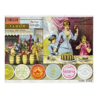 Vintage Baking Postcard