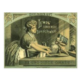 Vintage Baking Powder Postcard From 1880