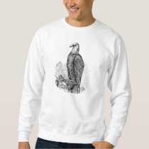 Vintage Bald Eagle - Birds Template Blank Sweatshirt