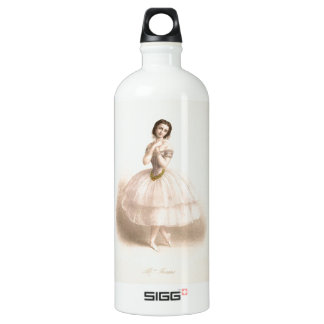 Vintage Ballerina - Beautiful Ballet Aluminum Water Bottle
