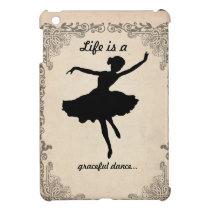 Vintage Ballerina iPad Mini Case