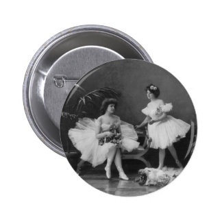 Vintage Ballerinas After the Encore Buttons