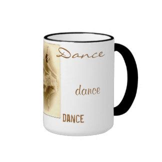 Vintage Ballet dancers dance mug