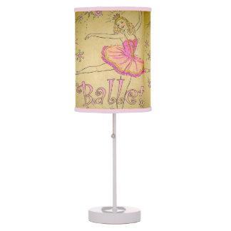 Vintage Ballet Lamp