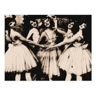 Vintage Ballet Postcard