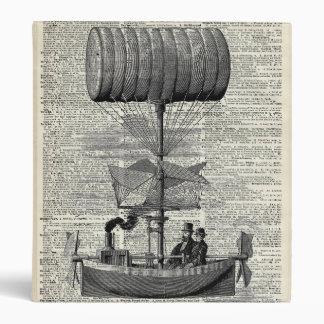 Vintage Ballon Airship Binder