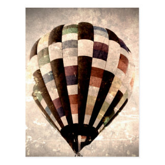Vintage Balloon Postcard