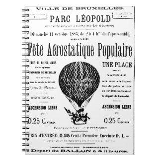 Vintage Balloons Notebook