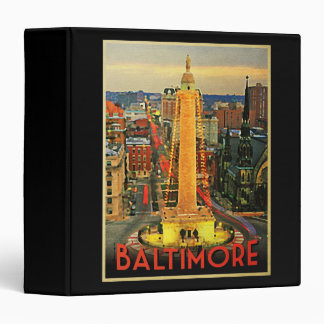 Vintage Baltimore At Dusk Binder