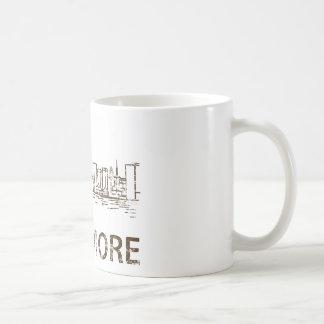 Vintage Baltimore Classic White Coffee Mug