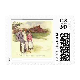 Vintage Baltusrol Country Club Postage Stamp