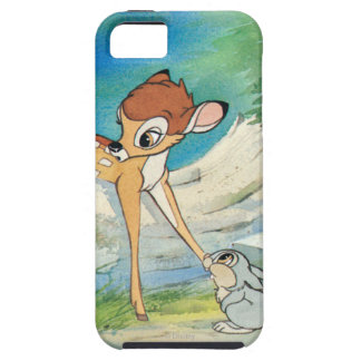 Vintage Bambi y golpeador Funda Para iPhone 5 Tough