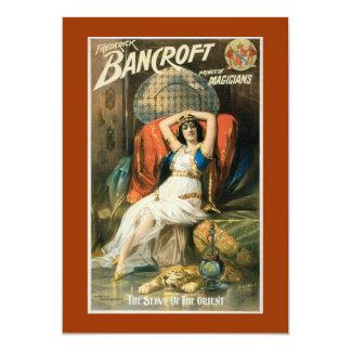 Vintage Bancroft Prince of Magicians Card