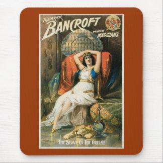 Vintage Bancroft Prince of Magicians Mouse Pad