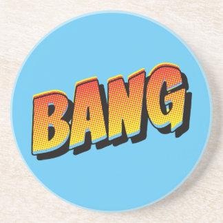 Vintage Bang! Comic Sound Effect Coaster