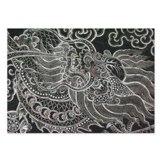 Vintage Bangkok Dragon Large Business Card