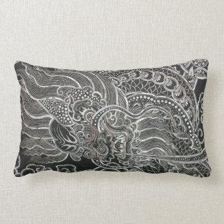 Vintage Bangkok Dragon Throw Pillows