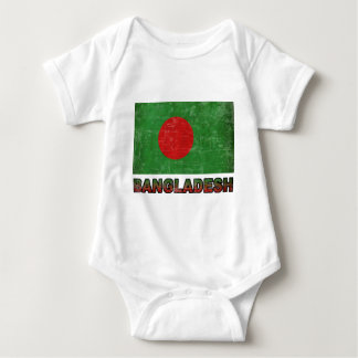Vintage Bangladesh Baby Bodysuit
