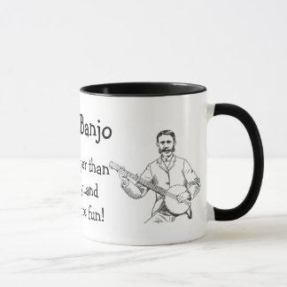 Vintage Banjo Player Mug - I Play Banjo