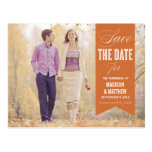 VINTAGE BANNER | SAVE THE DATE ANNOUNCEMENT POSTCARD