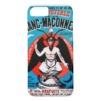 Vintage Baphomet Art on iPhone 7 case. Creepy! iPhone 8/7 Case