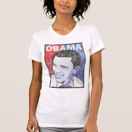 Vintage Barack Obama - aquél Playeras
