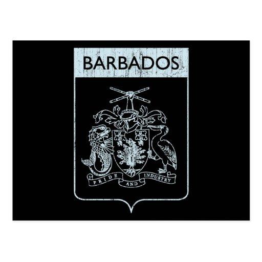 Vintage Barbados Postales