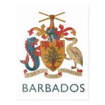 Vintage Barbados Tarjeta Postal
