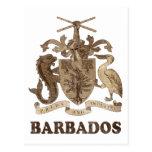Vintage Barbados Tarjetas Postales