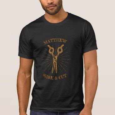 Professional Business Vintage barber logo T-shirts