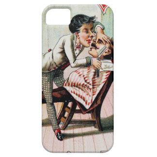 Vintage Barber Shop Shaving iPhone SE/5/5s Case