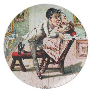 Vintage Barber Shop Shaving Plate