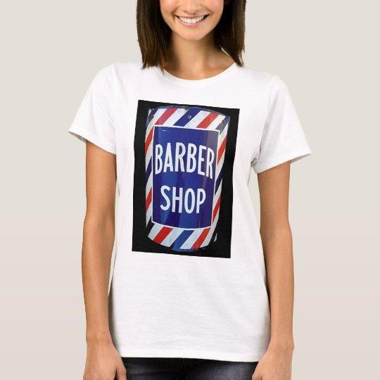 Vintage barbershop sign T-Shirt