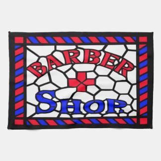 Vintage Barbershop Sign Towel